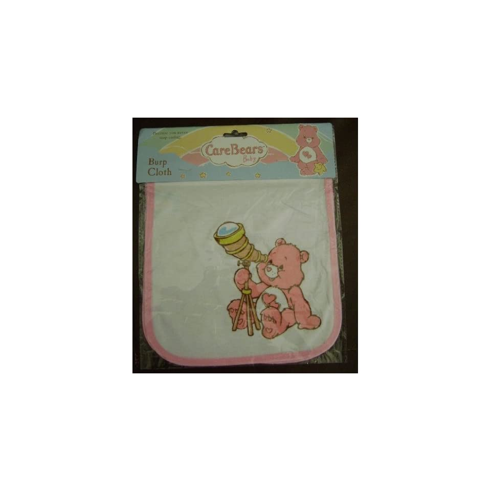 CARE BEAR BABY BURP CLOTH   (FOR GIRL)