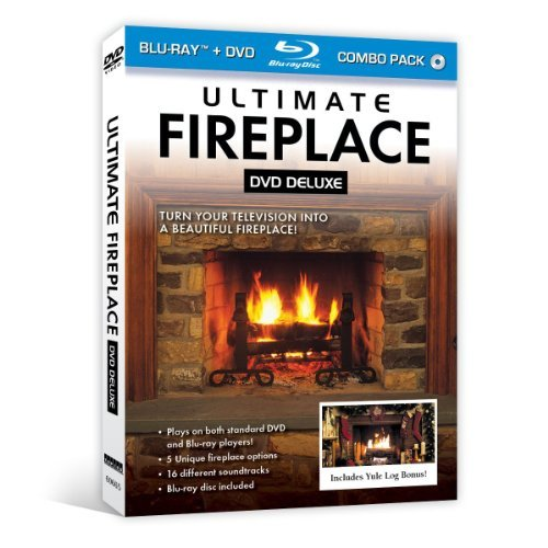 Ultimate Fireplace DVD Deluxe (+ Bonus Blu-ray disc) (Fireplace Cds compare prices)