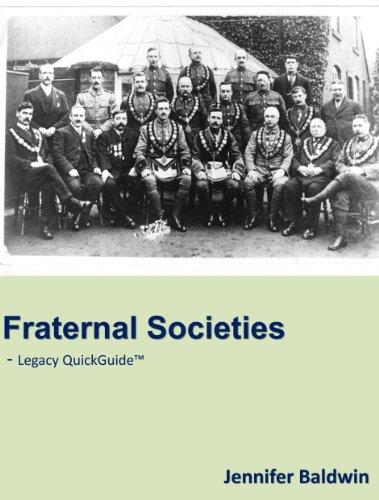 Fraternal Societies PDF