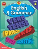 English & Grammar, Grade 4 (Brighter Child Workbooks)