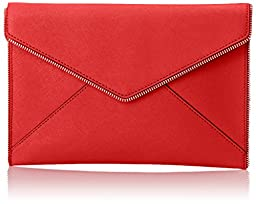 Rebecca Minkoff Leo Clutch, Cherry, One Size