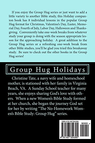 The No-Homework Women's Bible Study: Group Hug Holidays: Volume 7