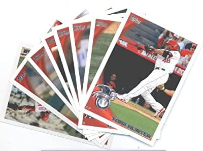 2010 Topps Baseball Cards Los Angeles Angels Team Set Update (Series 3) - 8 Cards including Torii Hunter, Peter Bourjos Rookie Card, Hideki Matsui, Brian Stokes, Bobby Wilson & more!