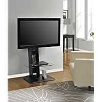 Altra Galaxy TV Stand with Mount for TVs (Black)