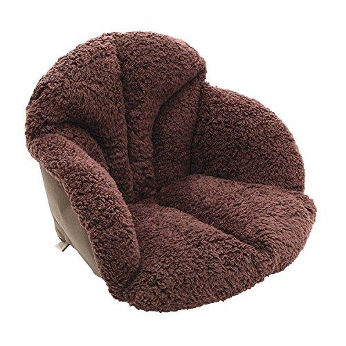 コジット 腰を包む座れる毛布 ダークブラウン