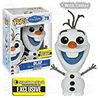 Funko POP Disney: Frozen Glitter Olaf Action Figure by Funko