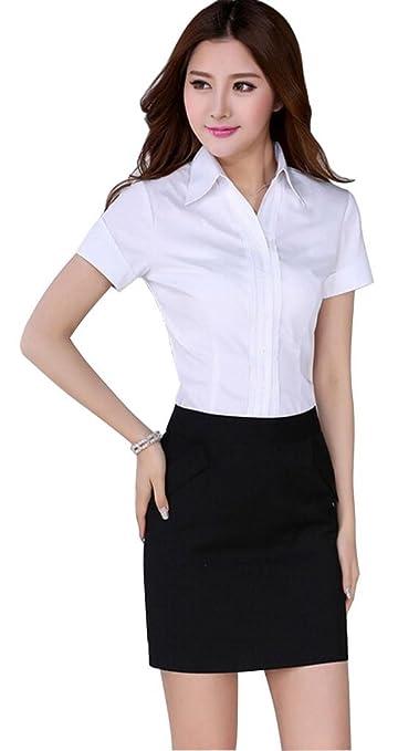 Short Sleeve Dress Shirts Womens Is Shirt