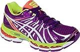 ASICS Womens GEL-Nimbus 15 Running Shoe,Wine/White/Flash Yellow,9 M US