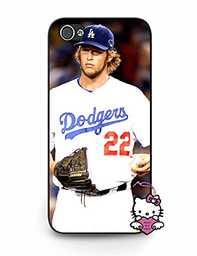 Iphone 5 5S Case, Hot Iphone 5S Case [Clayton Kershaw] Slim Ultra Fit for Iphone 5S - for Men (Iphone 5 Clayton Kershaw Case compare prices)