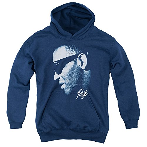 Ray Charles Blue Ray Youth Pull Over Hoodie RC104-YFTH