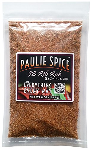 Paulie Spice : Sweet & Smoky BBQ Rib Rub and Seasoning For: Ribs, Chicken, Wings, Meat, Pork, Brisket, Beef, Salmon, Fish, Barbecue, Grilling, Grill, Hickory, Smoked, Dry, Rubs, Seasonings, Spices (Smoked Chicken compare prices)
