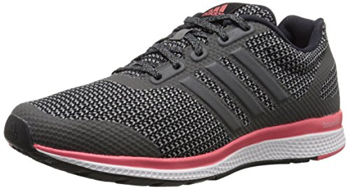 Adidas Performance Women's Mana Bounce Running Shoe,Black/Vista Grey/Prism Blue,10 M US