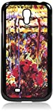 02-Claude Monet's Garden Hard Black Plastic Case with Tough Rubber Lining - for the Samsung Galaxy s4 i9500
