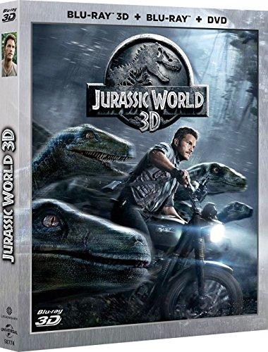 Jurassic World - Superset (DVD + BD + BD 3D) [Blu-ray]