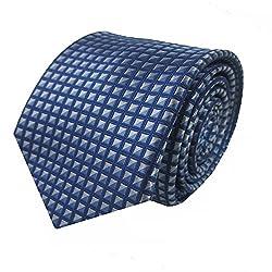 Rossini Men's Tie (UFAM13_Blue_Free Size)