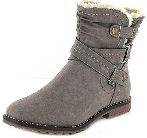 Pep Step1620904 - Stivali classici Donna , grigio (grigio (grigio)), 42