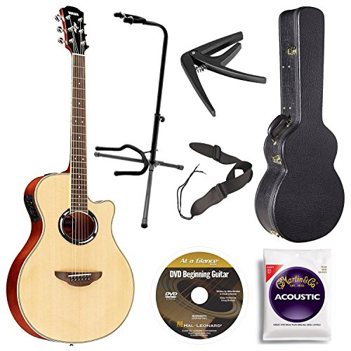 yamaha-apx500iii-na-thin-line-acoustic-electric-cutaway-guitar-natural-bundle-with-case-quick-start-