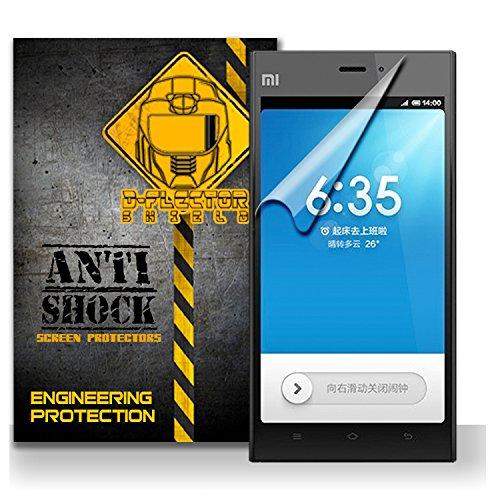 D-Flectorshield Xiaomi Mi3 Anti-Shock/Military Grade/ Tpu /Premium Screen Protector / Self Healing / Oleophobic Material / Ez Install / Ultra High Definition / Scratch Proof / Bubble Free Install / Precise Laser Cuts front-544310