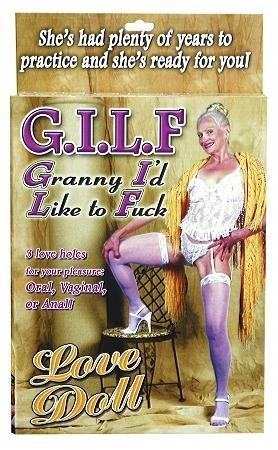 Granny I´d Like To Fuck Love Doll