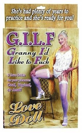 Granny I´d Like To Fuck Love Doll