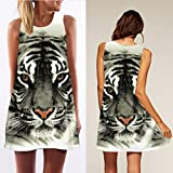 Tonsee-Womens-Tiger-Pattern-Printed-Sleeveless-Dress