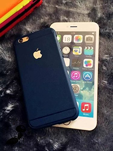 GoRogue Thick TPU Top Grade Royal Protective Back Case Cover For Apple iPhone 6 4.7 inch [Blue]