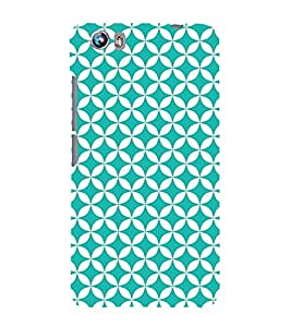 Heavy Green Circle 3D Hard Polycarbonate Designer Back Case Cover for Micromax Canvas Fire 4 A107