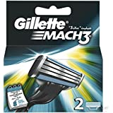 Gíllette Mach 3 Razor Refill Cartridges 10-Count (Packaging may vary)