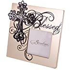 4x4 Blessed Cross Photo Frame