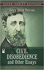 henry david thoreau civil disobedience other essays