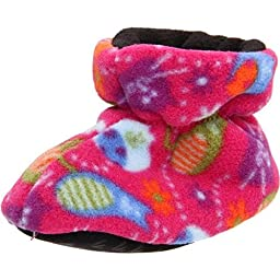 New Acorn Toddler/Infant Easy Booties Fat Cat Pink M