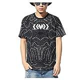 Pizoff Unisex Luxury Religious Hip Hop T Shirts
