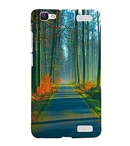 Printvisa Natures Beauty Back Case Cover for vivo V1 Max