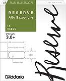 D'Addario  リード レゼルヴ アルトサクソフォーン 強度:3.0+(10枚入) ファイルドカット DJR10305 ランキングお取り寄せ