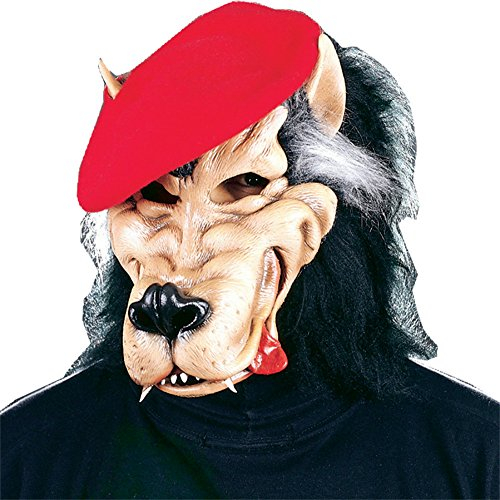 Party Big Bad Wolf Animal Latex Adult Halloween Costume Mask