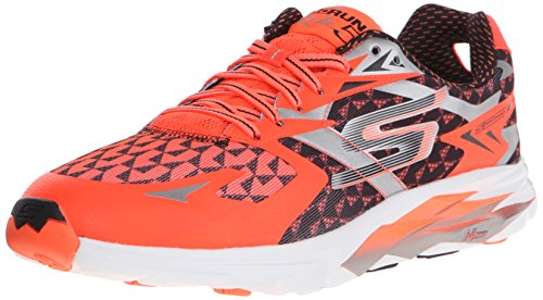 Skechers Go Run Ride 5 - Zapatillas de deporte Hombre, Naranja (Orbk), 45.5 56.98€