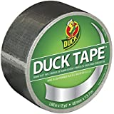 Duck Brand 1303158 Metallic Color Duct Tape, Chrome, 1.88-Inch by 15 Yards, Single Roll