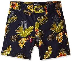 Rig Kids Boys' Shorts (SHORTS 04_Grey_5 - 6 years)