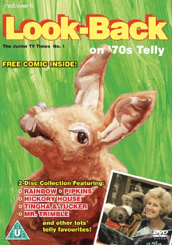 Look Back On 70's Telly - Issue 1 [DVD]. Rediscover British kids TV shows from the 1970's.