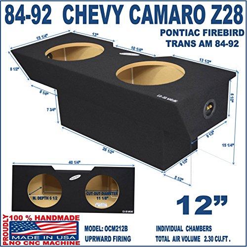 Chevy Camaro Sub Box Z28 12