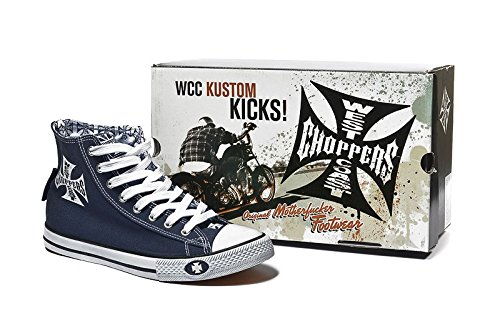 West Coast Choppers Schuhe WCC Warriors, Color:darknavy;Größe:43