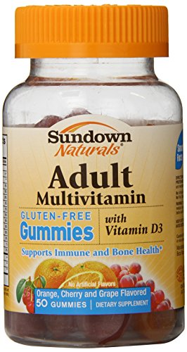 Sundown Naturals Adult Multivitamin Gummies, 50 Count (Pack Of 3)