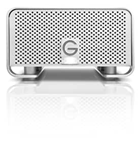G-Technology G-RAID 8TB High-Performance Dual-Drive RAID Storage System with USB 3.0, Firewire 400, Firewire 800 Interfaces and RAID 0 (0G02492)