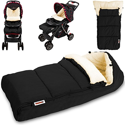Baby-Fusack-Babyfusack-Kinderwagen-Winterfusack-Babyschale-Babydecke-Waschbar-Creme-Farbauswahl