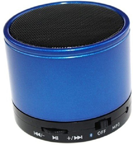 General Aux Mini Portable Round Speaker
