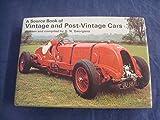Vintage and Post-vintage Cars (Source Book) (0706318226) by Georgano, G.N.