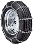 """Security Chain Company QG1138 Quik Grip Type PL Class """"S"""" Passenger Vehicle Tire Traction Chain - Set of 2"""