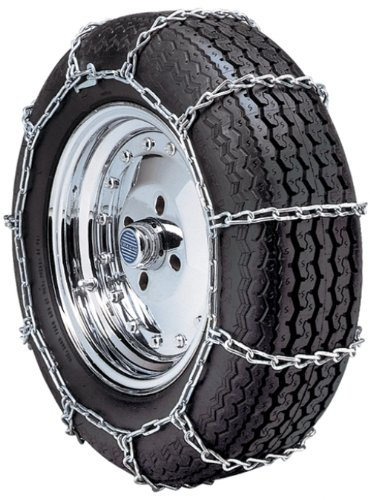"""Security Chain Company QG1138 Quik Grip Type PL Class """"S"""" Passenger Vehicle Tire Traction Chain – Set of 2"""