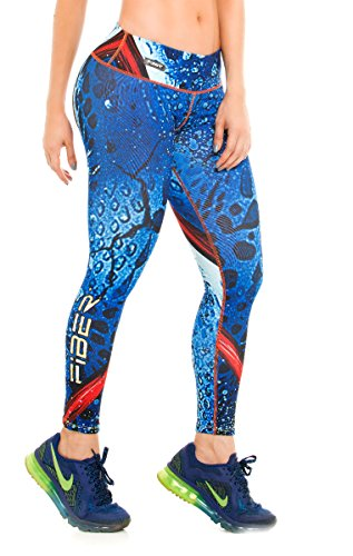 fiber-leggings-superhero-yoga-pantalones-de-mallas-de-compresion