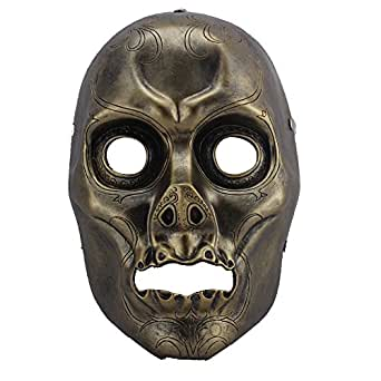 SALICO Halloween Cosplay Mask Resin Death Eater Masquerade Costume Party Mask